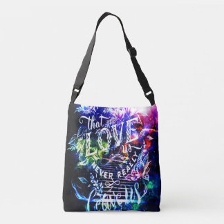 Stairway to the Ones that Love Us Crossbody Bag