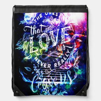 Stairway to the Ones that Love Us Drawstring Backpack