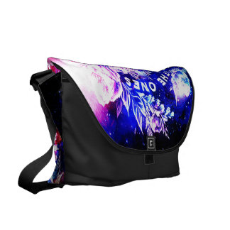 Stairway to the Skies 5o the Ones that Love Us Messenger Bag