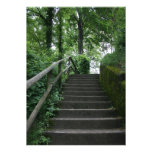 Stairway to the trees personalized invitation