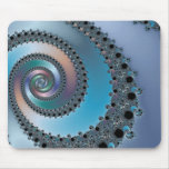 Stairwell - Fractal Mouse Pad