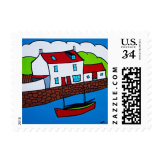 Staithes, North Yorkshire, England Postage