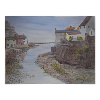 Staithes, Scarborough, North Yorkshire UK Posters