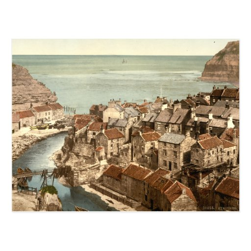 Staithes, Yorkshire, England Postcard