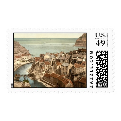 Staithes, Yorkshire, England Stamps
