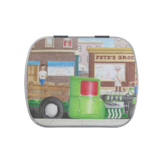 Stakebed Hauler Jelly Belly Candy Tins