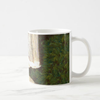 Stalacites and Stalagmites in a cave Coffee Mug