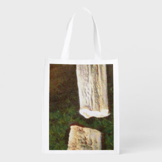 Stalacites and Stalagmites in a cave Reusable Grocery Bag
