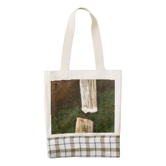 Stalacites and Stalagmites in a cave Zazzle HEART Tote Bag
