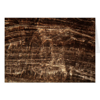 Stalagmite under the microscope card
