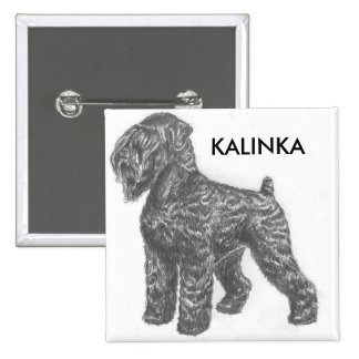 stalin dog Your Custom Square Button