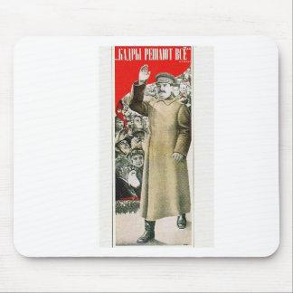 stalin el líder URSS Tapetes De Raton