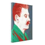 Stalin - Modern Art Canvas 18x24 Gallery Wrapped Canvas