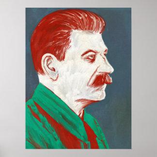 Stalin - Modern Art Poster 18x24
