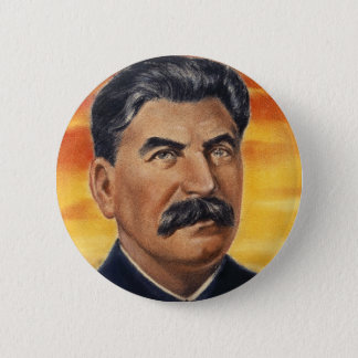 stalin pinback button