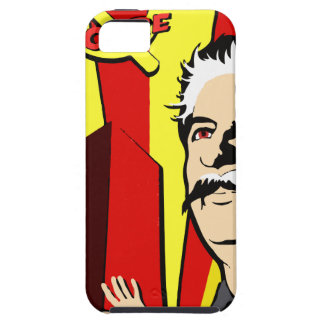 Stalin portrait red scare soviet union poster iPhone 5 case
