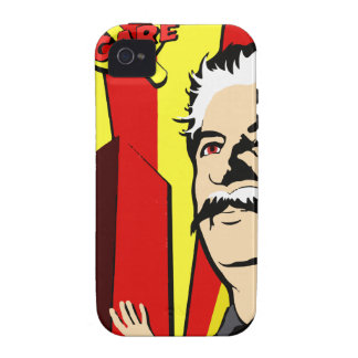 Stalin portrait red scare soviet union poster iPhone 4/4S cover