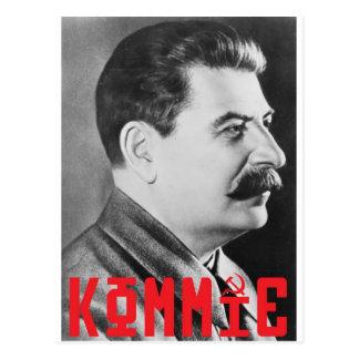 stalin postcard