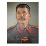Stalin rústico postal