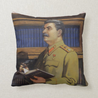 Stalin Throw Pillow