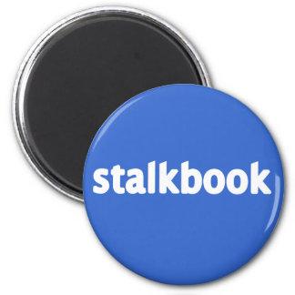 stalkbook 2 inch round magnet