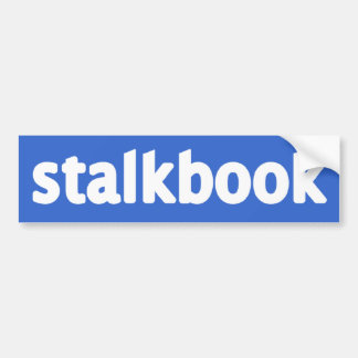 stalkbook pegatina para auto