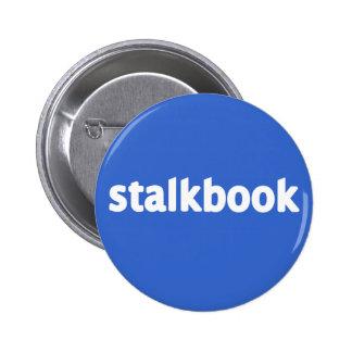 stalkbook pinback button