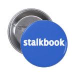 stalkbook pinback buttons