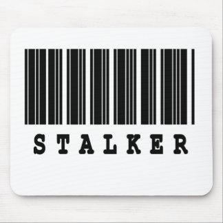 stalker barcode design mouse pad