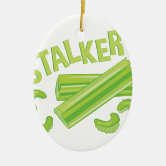 Stalker Ceramic Ornament