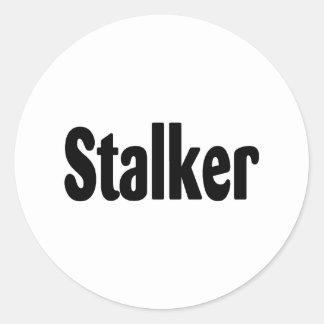 Stalker Classic Round Sticker
