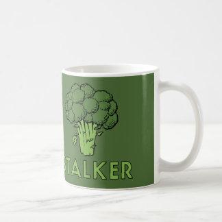 STALKER Funny Broccoli Fun Humor Pun Coffee Mug