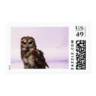 """""""Stalker"""" JTG Art Postage Stamp"""