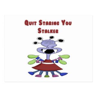 Stalker Monster Post Cards