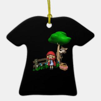 Stalker Double-Sided T-Shirt Ceramic Christmas Ornament