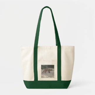 Stalking Bobcat Tote Bag