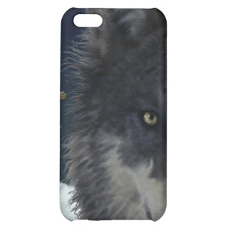 Stalking Grey Wolf Cool Wildlife Art iPhone Case iPhone 5C Cases