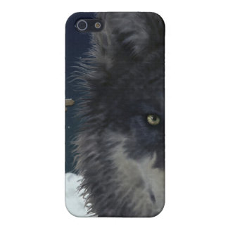 Stalking Grey Wolf Cool Wildlife Art iPhone Case Cases For iPhone 5