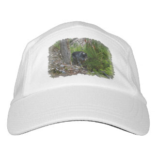 Stalking Grey Wolf & Forest Wildlife Photo Art Hat