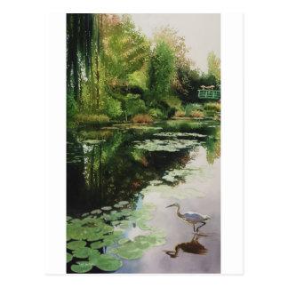 Stalking Monet by Paul Jackson aws,nws Postcard