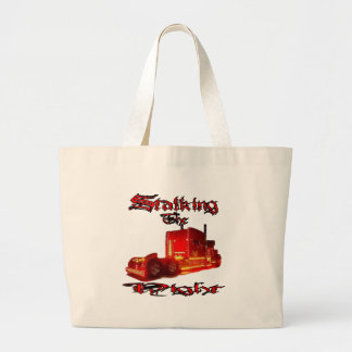 Stalking The Night Large Tote Bag
