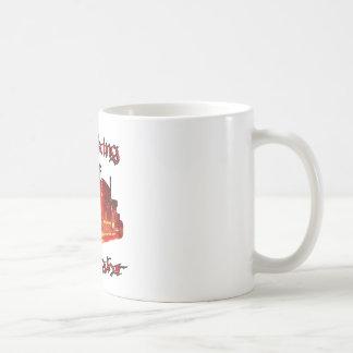 Stalking the Night Classic White Coffee Mug