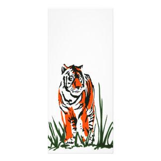 Stalking Tiger Rack Card