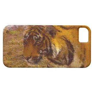 Stalking Tiger Wildlife Fine Art iPhone 5 Case