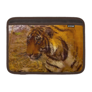 Stalking Tiger Wildlife Fine Art MacBook Sleeve