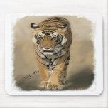 stalking tigress mousepad