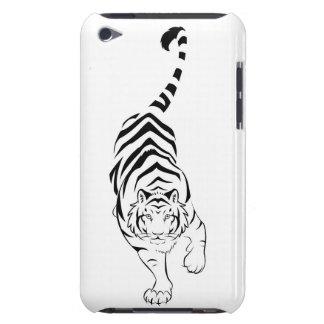 Stalking Tribal Tiger iPod Case-Mate Case