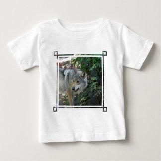 Stalking Wolf Baby T-Shirt