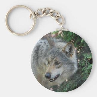 Stalking Wolf Keychain
