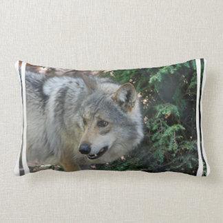 Stalking Wolf Pillow